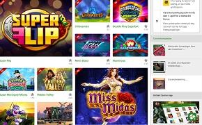 Unibet Casino spil bonus