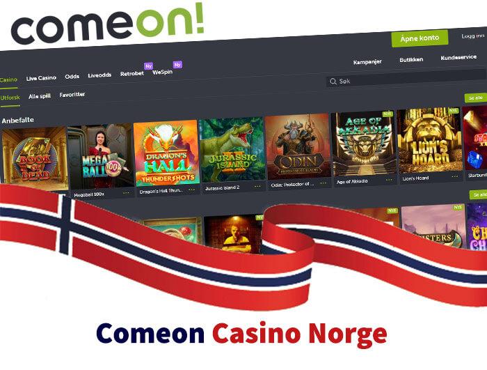 Comeon Casino Anmeldelse